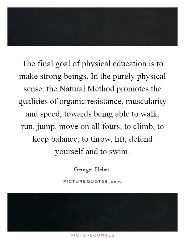 Physical Education Quotes Sayings