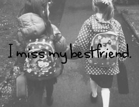I miss my best friend Picture Quote #1