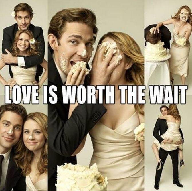 Love is worth the wait Picture Quote #1