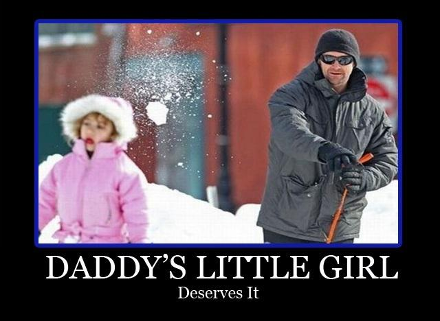 Daddy's little girl deserves it Picture Quote #1