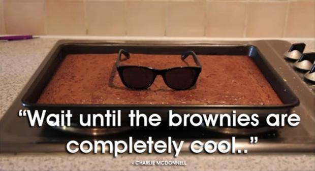 Wait until the brownies are completely cool Picture Quote #1