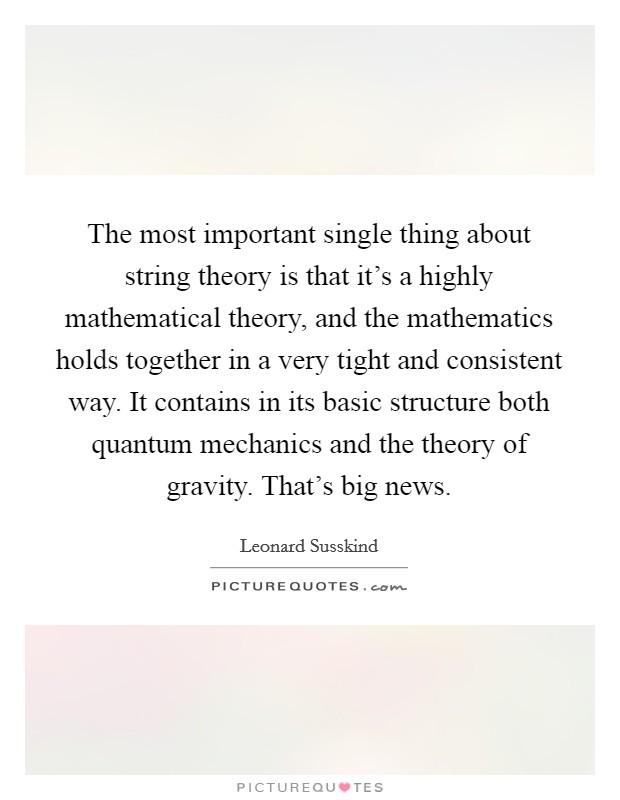 string theory news