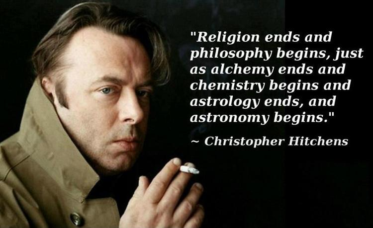 Religion ends and philosophy begins, just as alchemy ends and chemistry begins, and astrology ends and astronomy begins Picture Quote #1