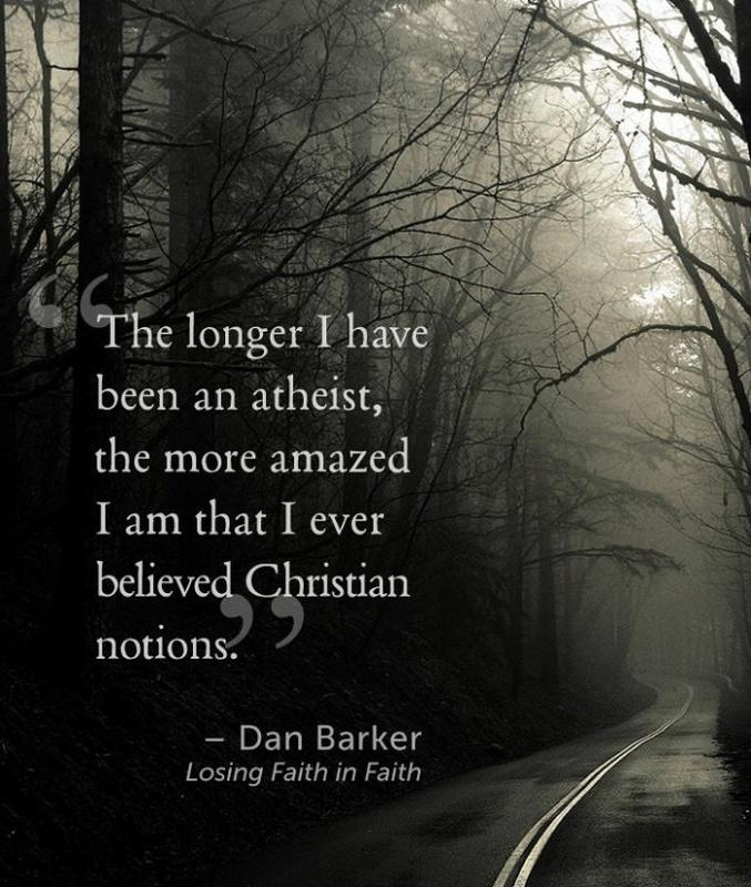 The longer I have been an atheist, the more amazed I am that I ever believed Christian notions Picture Quote #1