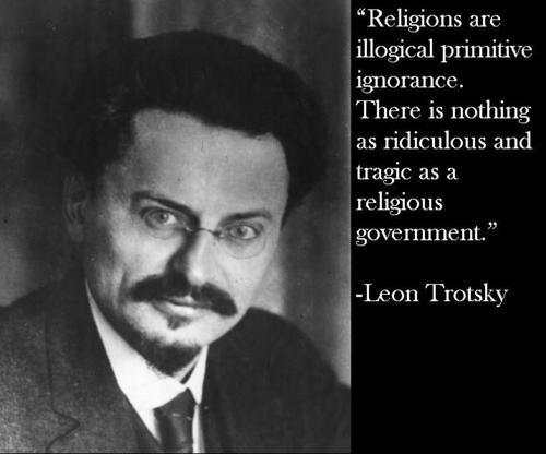Religions are illogical primitive ignorance. There is nothing as ridiculous and tragic as a religious government Picture Quote #1