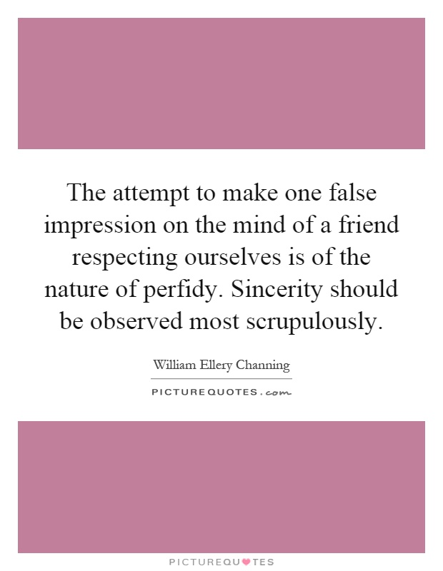 a comparison of false impression and the brethren It has been argued that the social media effect creates a false sense of self and self-esteem through the use of likes, fans, comments, posts, etc for many social media users, it is an esteem.