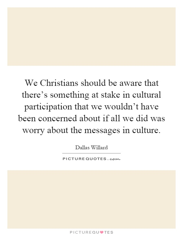 How should christians behave