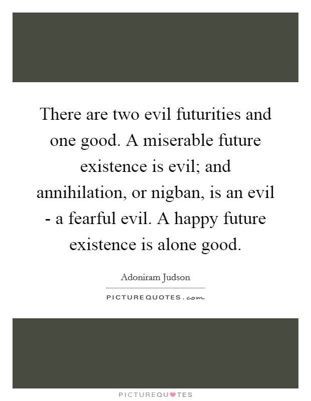 The Existence of Evil and God