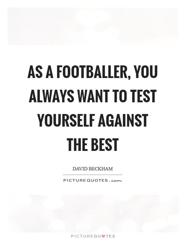 Footballer Sayings