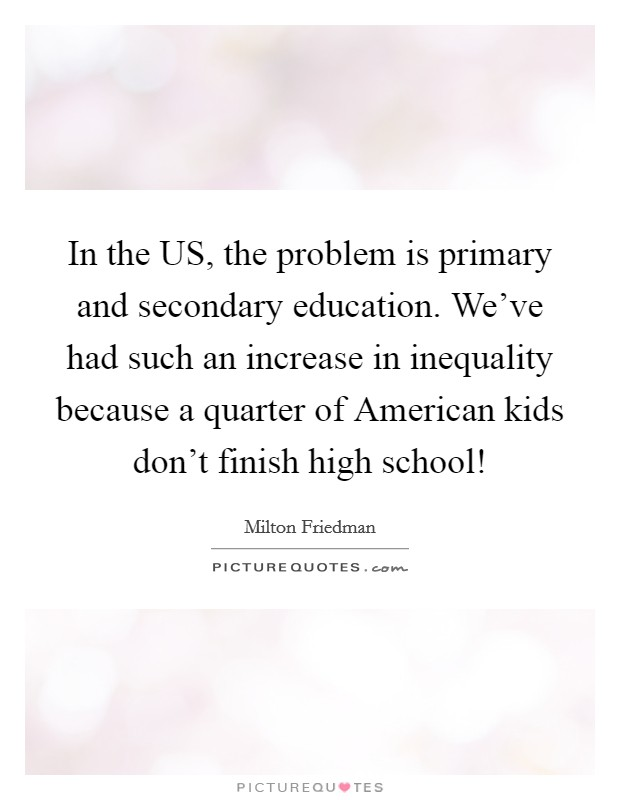 a problem in the american education Americans ignorance of civics and history is a symptom of federally  the  department of education exemplifies both this problem and its.