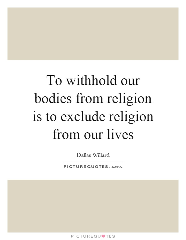 religion in our lives When people want to change, they often turn to religion  we should change  and how vary by tradition, the promise that our lives will become.