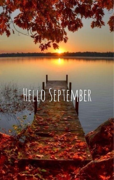 Hello September | Picture Quotes
