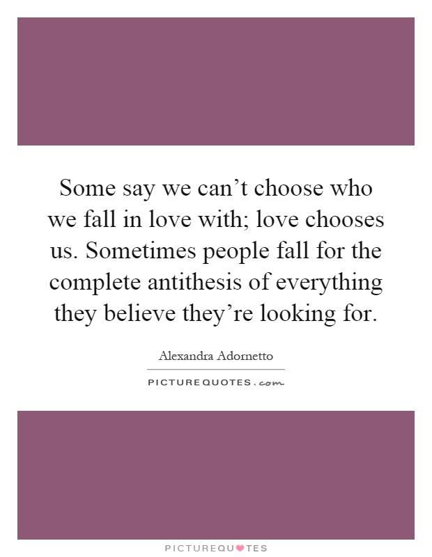 love antithesis