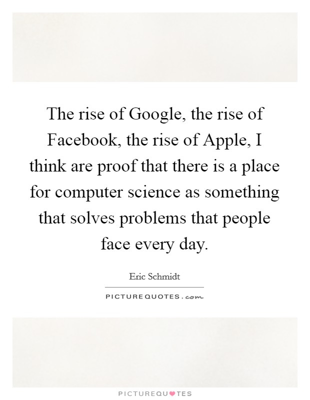 the rise of computer science