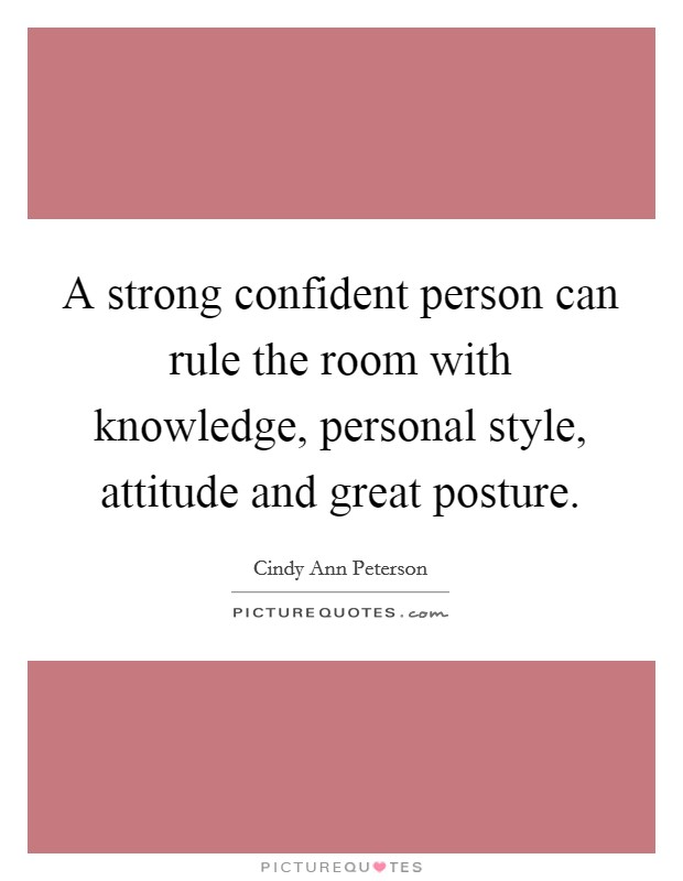 how to become a strong confident person