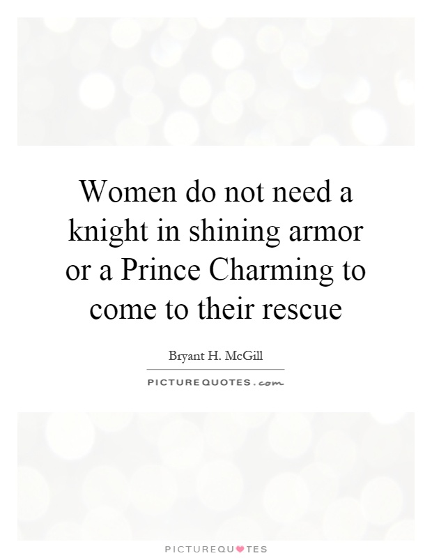 Knight charming armor