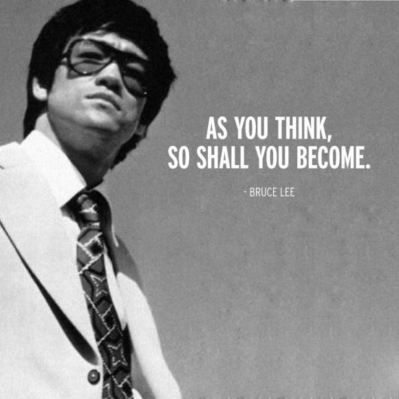 As you think, so shall you become Picture Quote #1