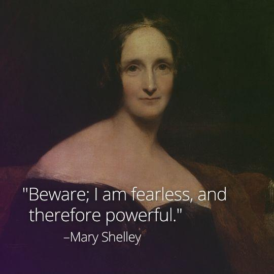 Beware; I am fearless, and therefore powerful Picture Quote #1