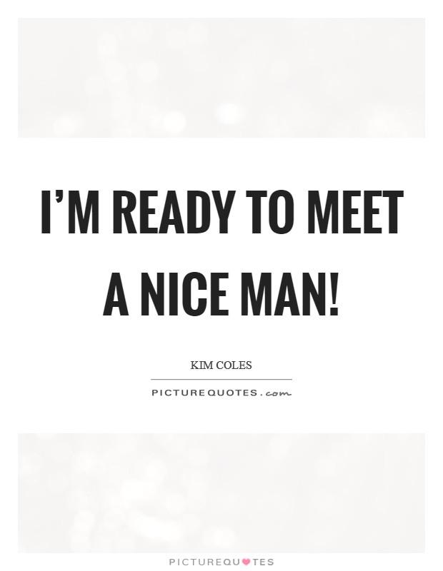 where to go meet a nice man