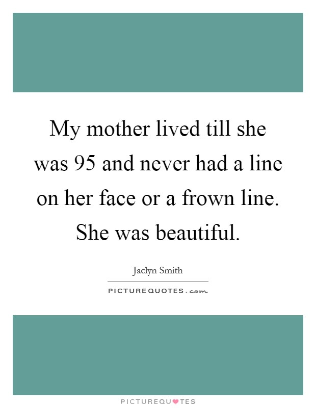 my mother lines