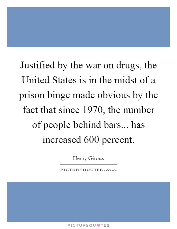 a research on the war on drugs in the united states The war on drugs was declared by president nixon in 1971 read the whole example of an argumentative essay and buy  within the boundaries of the united states.