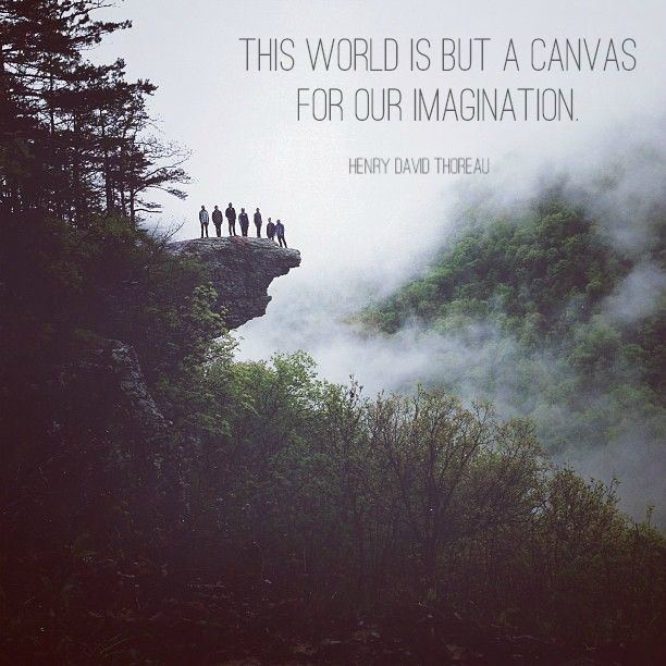 This world is but a canvas for our imagination Picture Quote #3