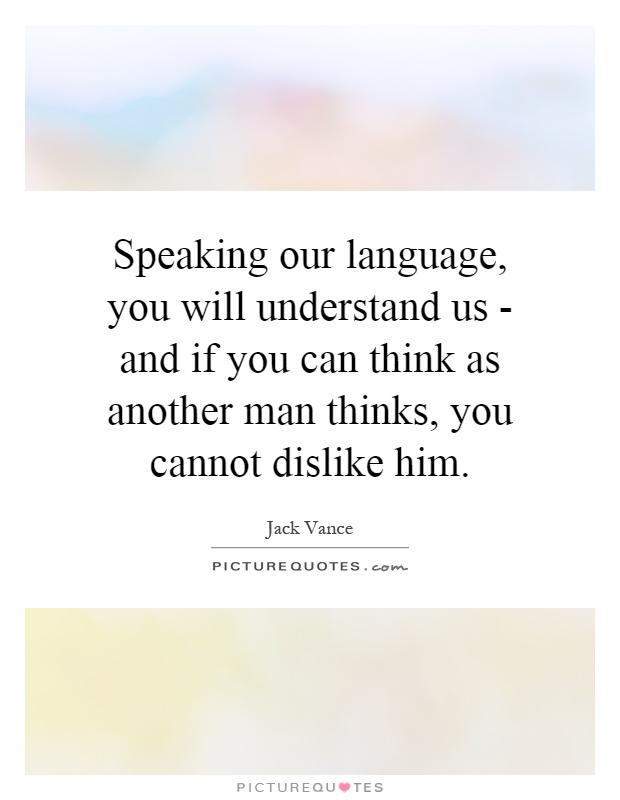 Do you speak ...?