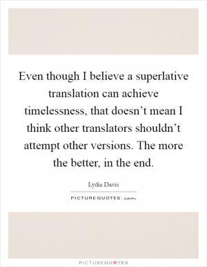 Lydia davis quotes