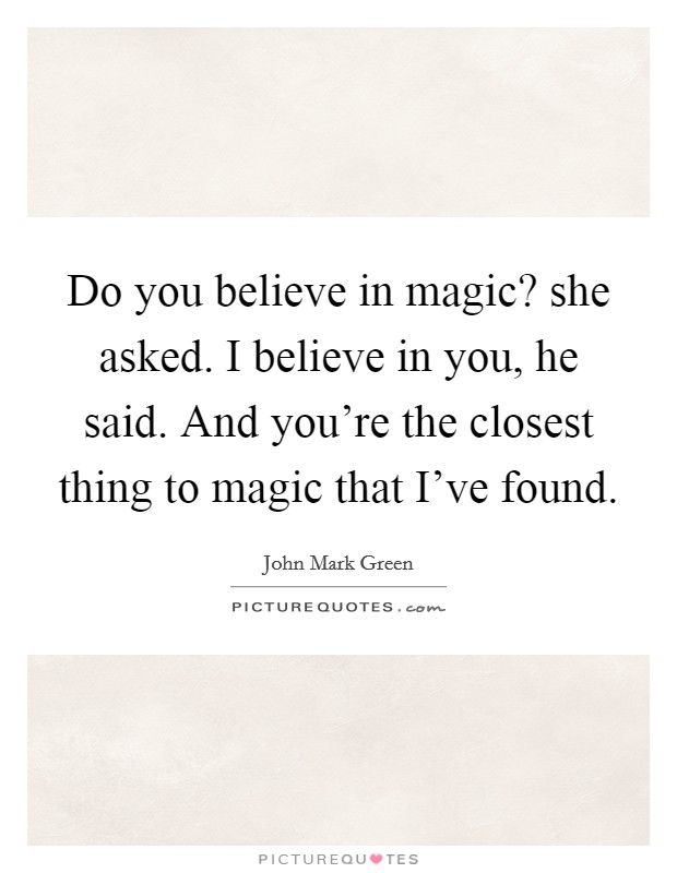 do you believe in magic lyrics meet the pyro