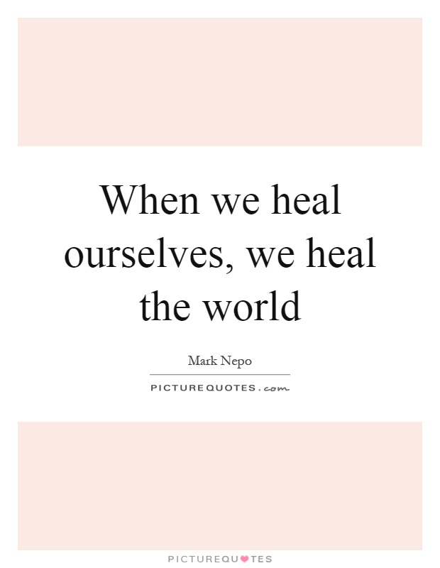 Heal Earth Heal Yourselves