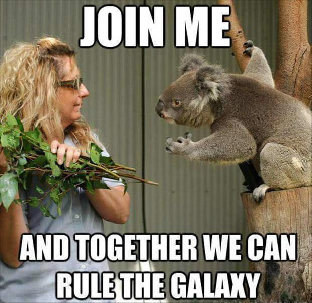 Join me and together we can rule the galaxy Picture Quote #1