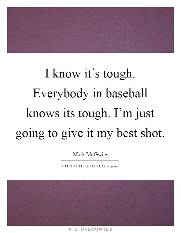 Its Tough To Be Famous 1932 Alfred E Green Douglas: I Know It's Tough. Everybody In Baseball Knows Its Tough
