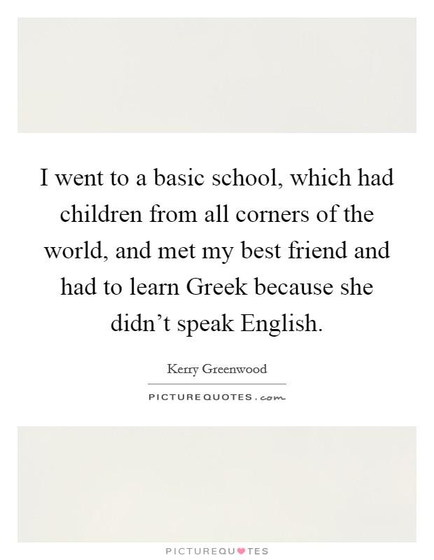 How to Speak Basic Greek