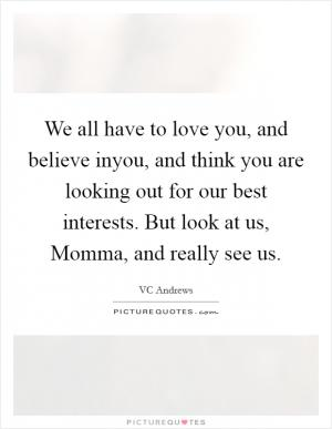 Family Background QuotesVC Andrews Quotes