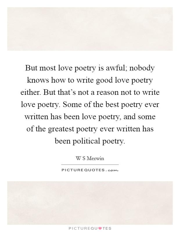 Most romantic poetry quotes