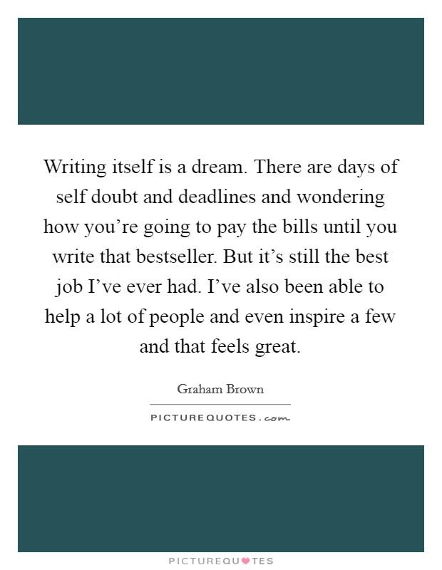 Essay that writes itself