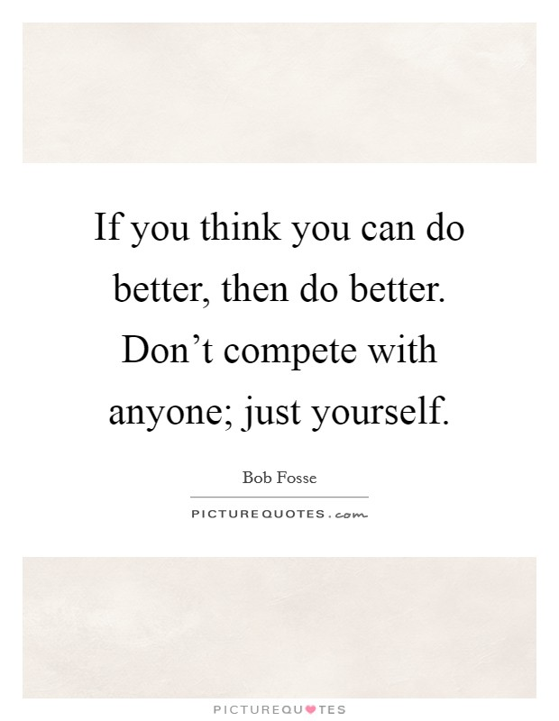 how to think better of yourself