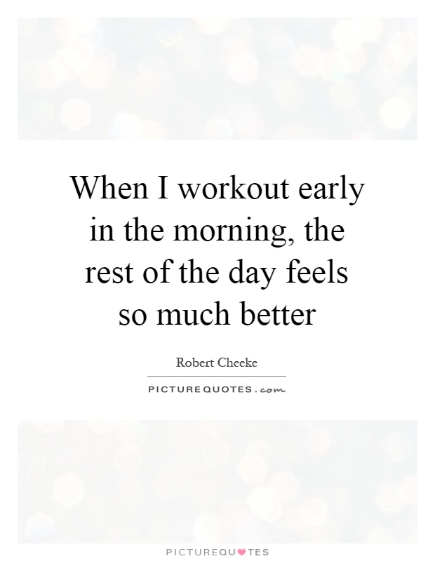 Morning Workout Quotes Stunning Morning Workout Quotes Interesting 81 Best Motivational Gym Quotes