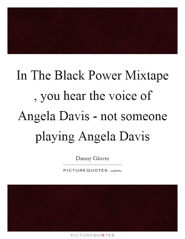 analysis of the black power mixtape