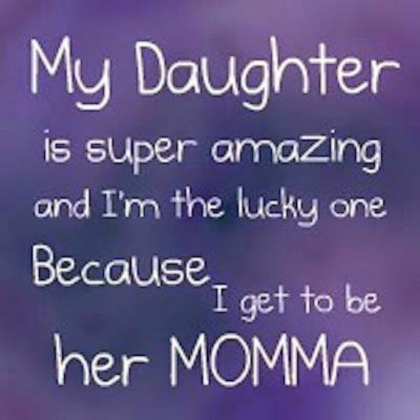 Cute Mommy Daughter Quote 2 Picture Quote #1