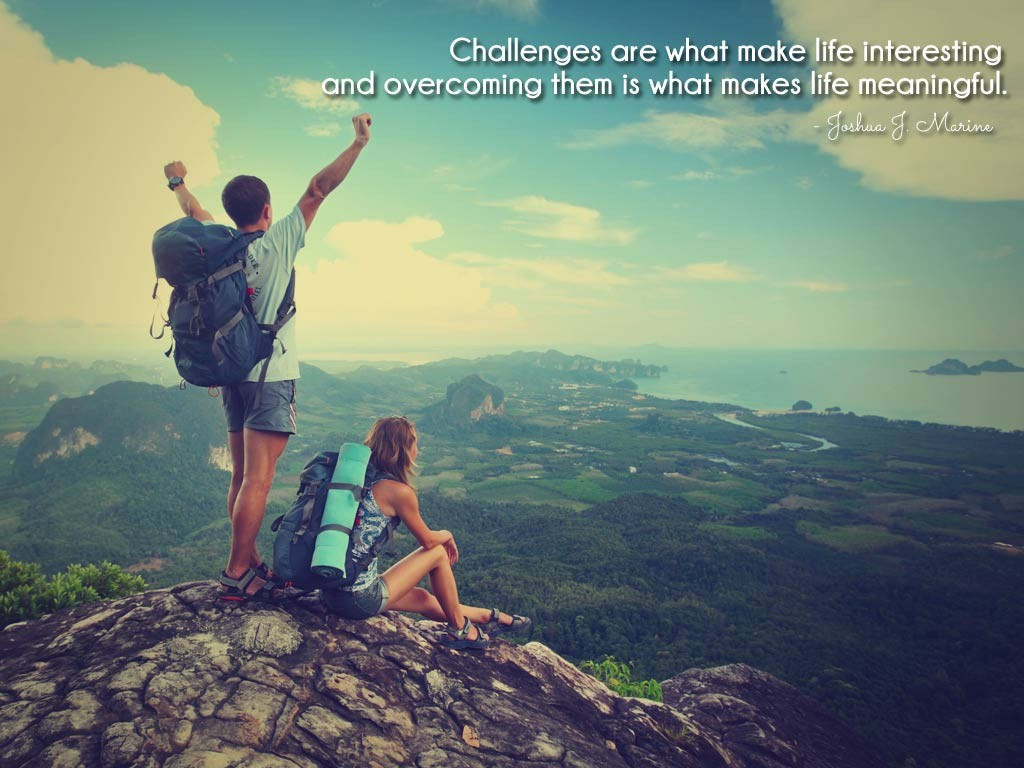 Overcoming Life Challenges Quote 2 Picture Quote #1