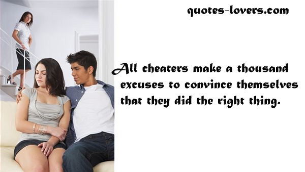 Cheating Men Quote 1 Picture Quote #1