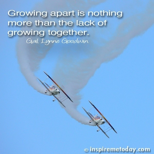 Growing Apart Quote 11 Picture Quote #1