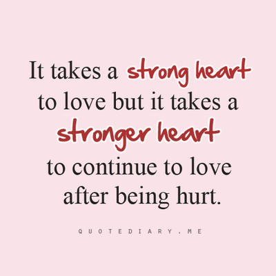 Being Hurt By Someone You Love Quote 1 Picture Quote #1