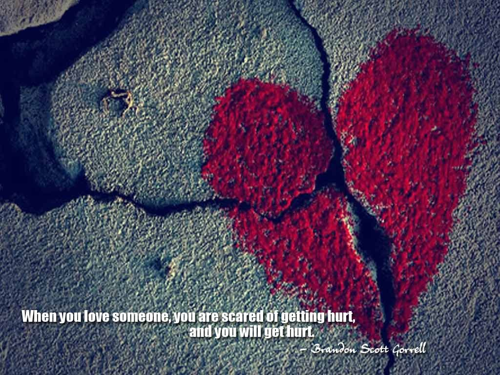 Being Hurt By Someone You Love Quote 2 Picture Quote #1