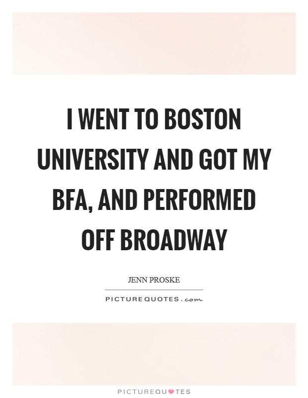 Boston Quotes Cool Boston University Quotes Sayings Boston University Picture Quotes