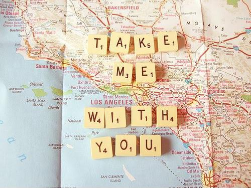 Take me with you Picture Quote #1