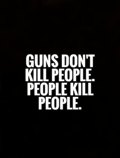 guns dont kill people people kill Via youtube capture chandler ferrand and andrew steely's commercial for american government.