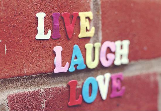Live, laugh, love Picture Quote #1