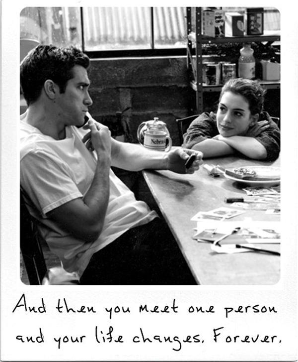 And then you meet one person and your life changes forever Picture Quote #1